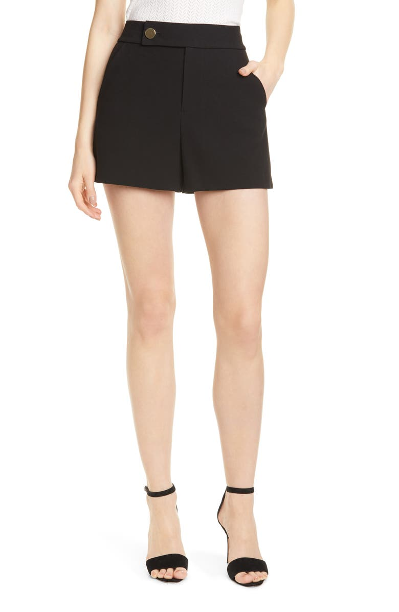 Bradwin High Waist Shorts by Alice + Olivia