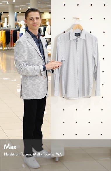 Berkely Regular Fit Pattern Button-Up Shirt, sales video thumbnail