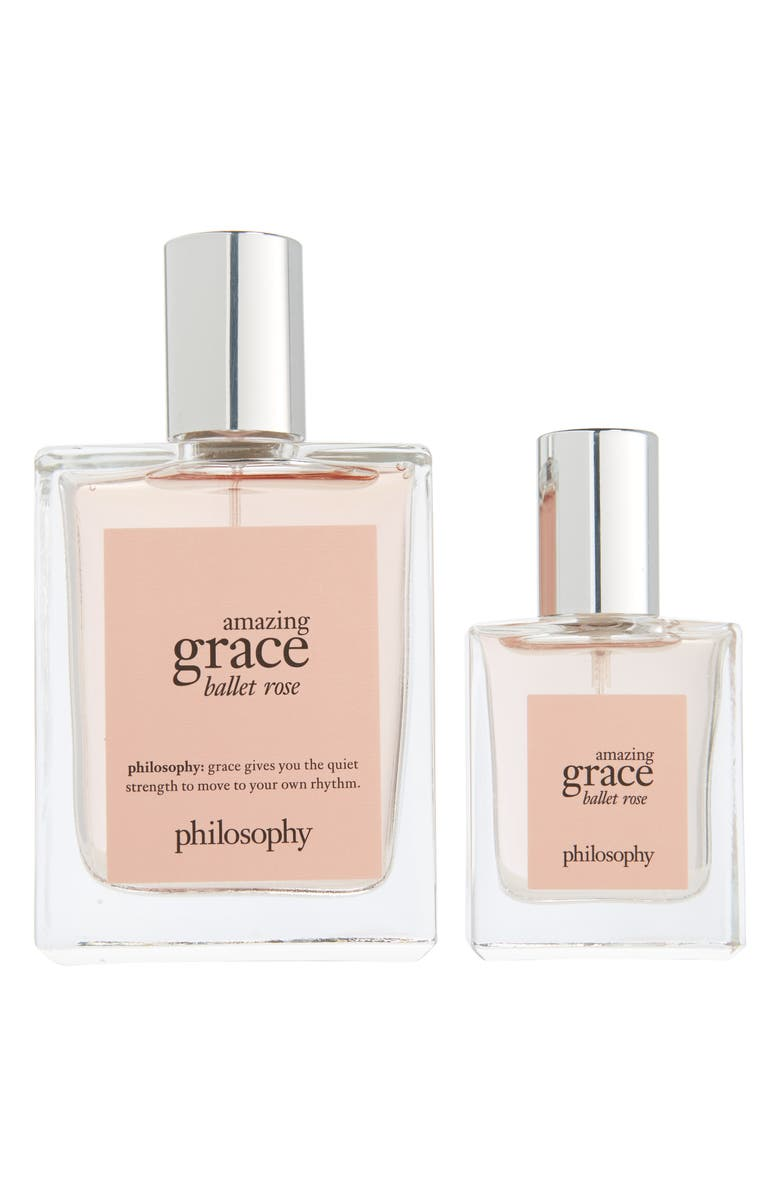 PHILOSOPHY amazing grace ballet rose eau de toilette set, Main, color, NO COLOR