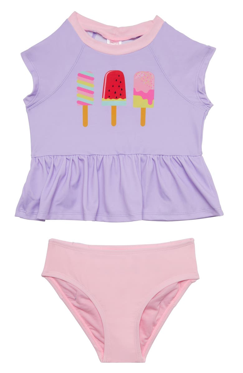 e9bbd95ac5 Hula Star Ice Pops Two-Piece Tankini Swimsuit (Toddler Girls ...