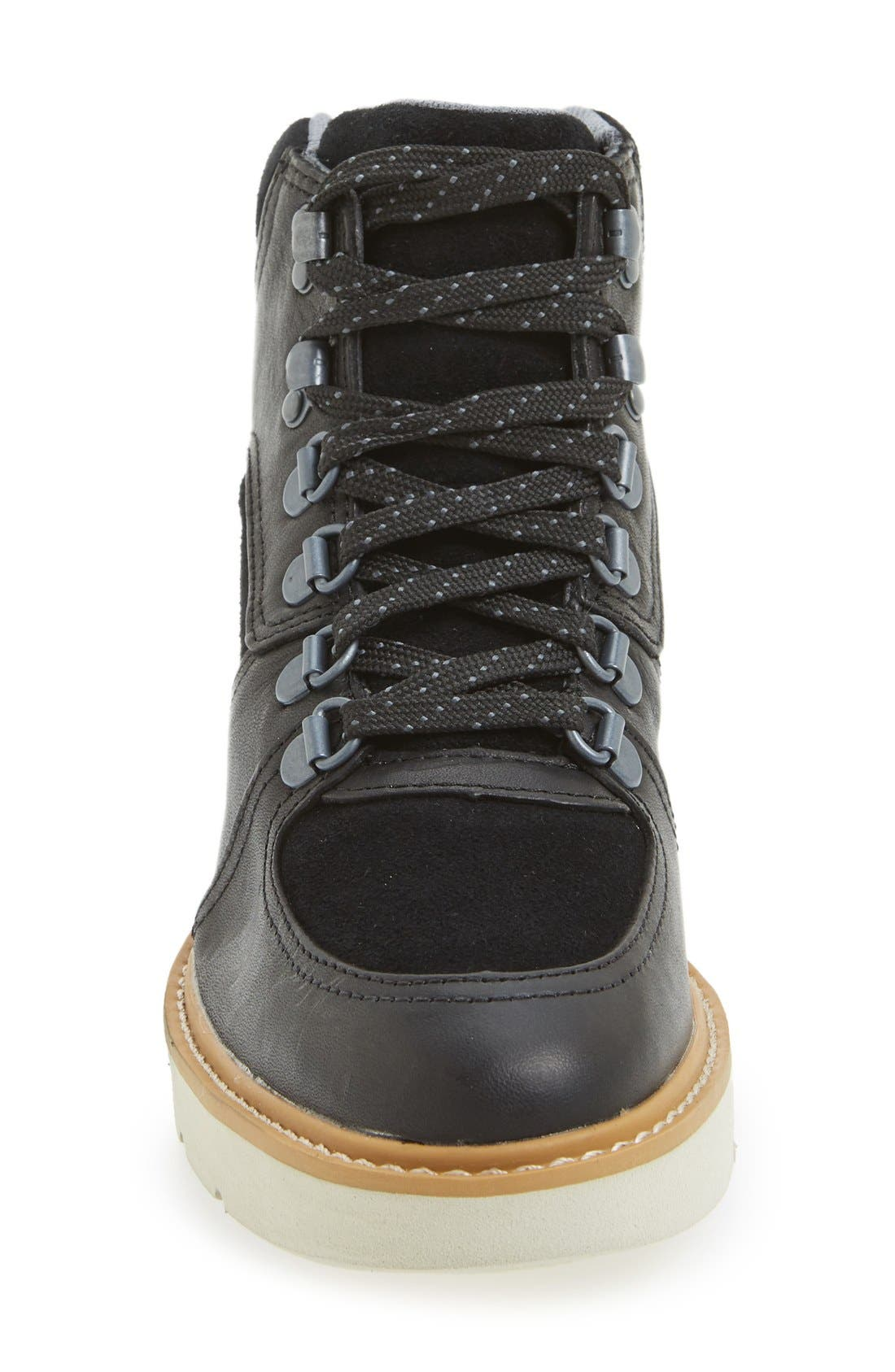 ,                             'Kenniston' Lace-Up Boot,                             Alternate thumbnail 3, color,                             001
