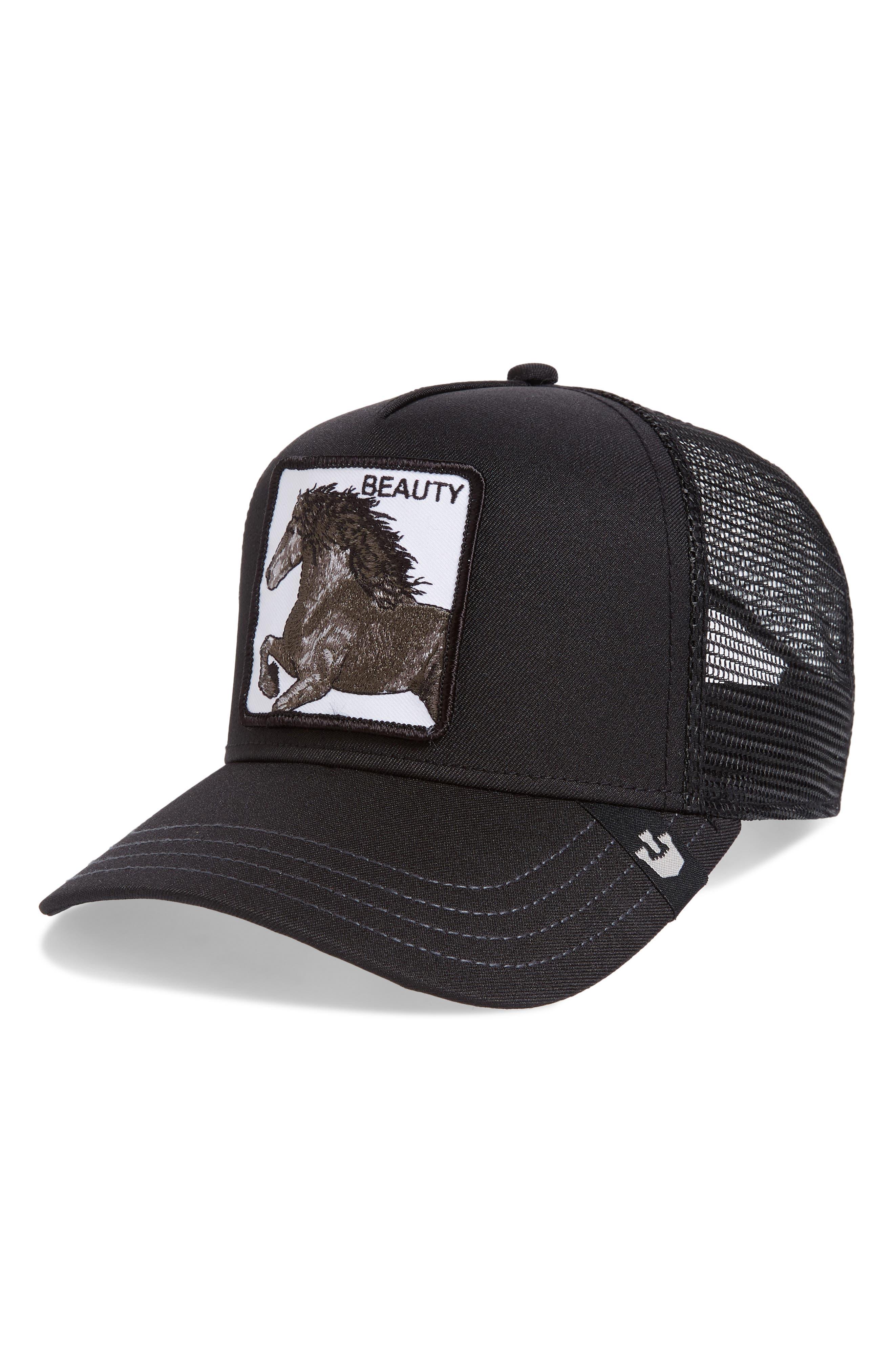 . Black Beauty Trucker Hat