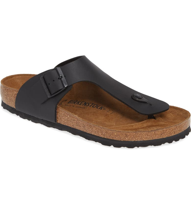 BIRKENSTOCK Rames Sandal, Main, color, BLACK
