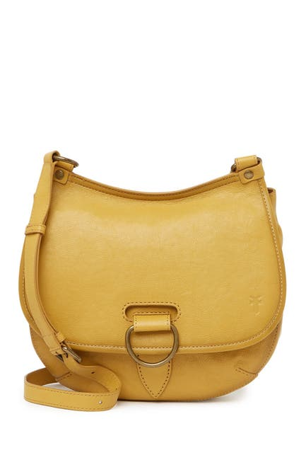 Image of Frye Lucy Leather Crossbody Bag