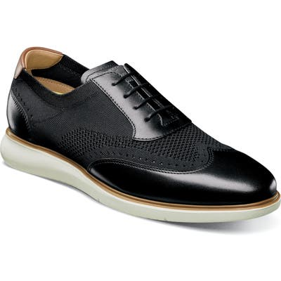 Florsheim Fuel Wingtip, Black