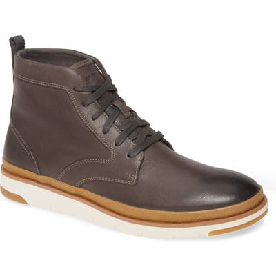 Hush Puppies Caleb Plain Toe Boot, Grey