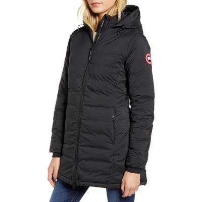 Canada Goose Camp Hooded Down Jacket, (2-4) - Black