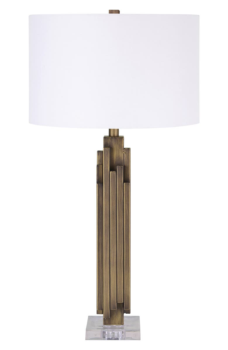 RENWIL Gabriel Table Lamp, Main, color, ANTIQUE BRASS CLEAR
