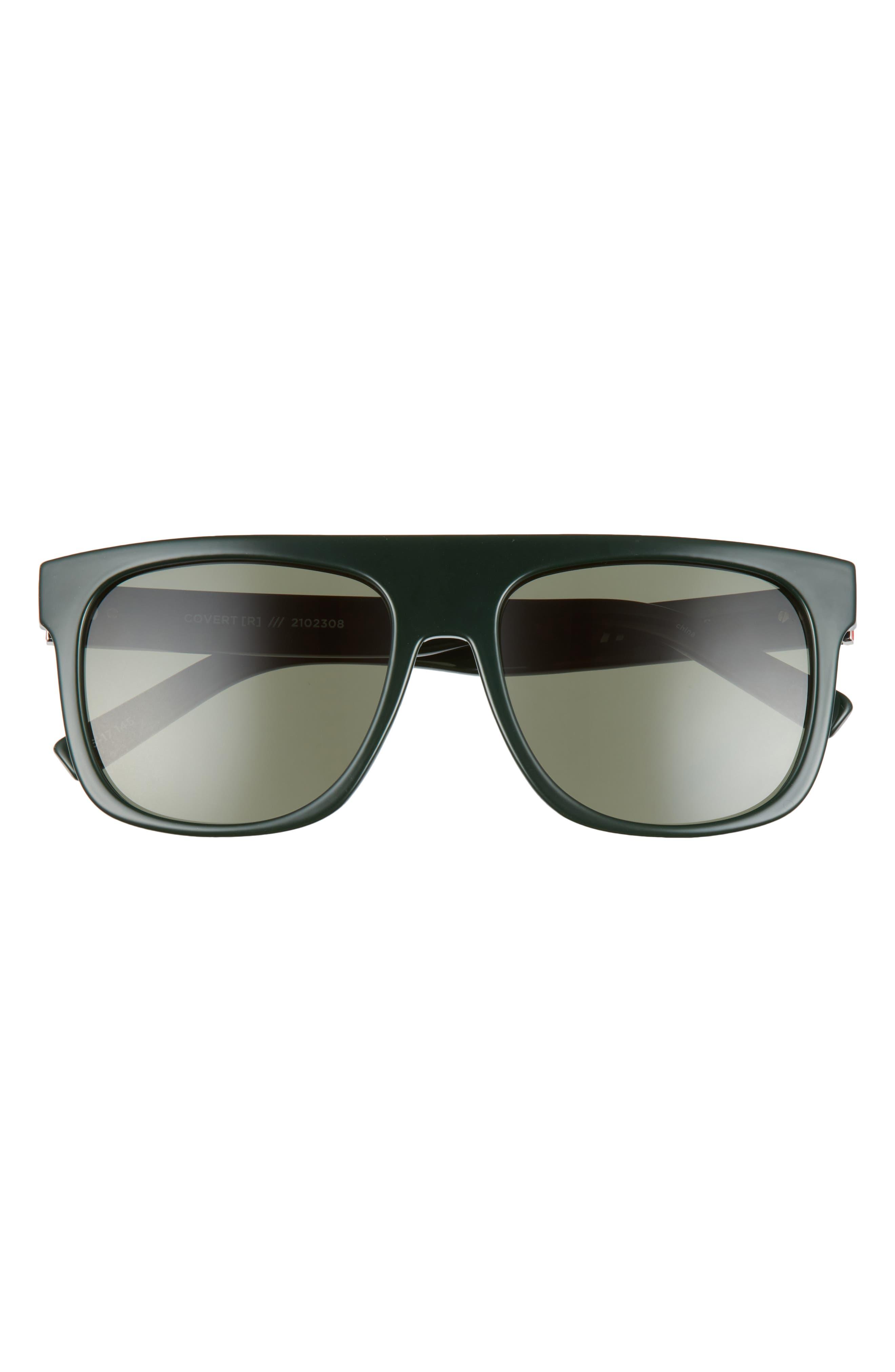 Covert Modern 56mm Flat Top Sunglasses