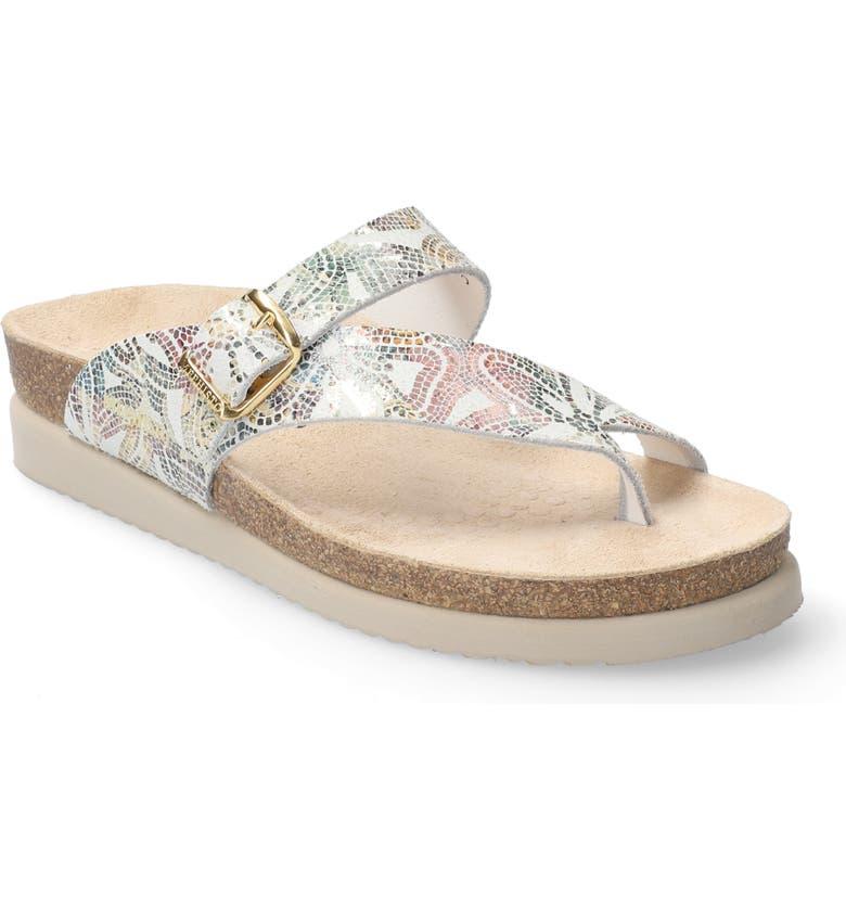 MEPHISTO 'Helen' Sandal, Main, color, POMPEI PRINT LEATHER
