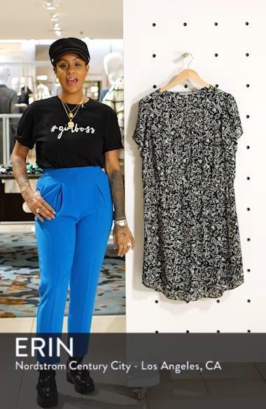 Print Pleat Front Dress, sales video thumbnail