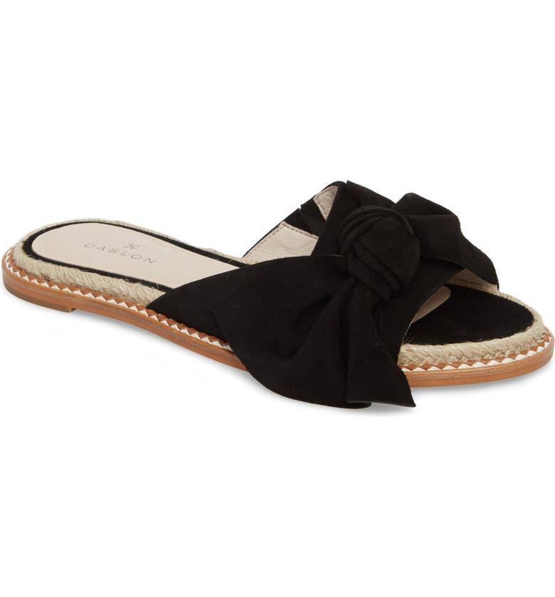 CASLON<SUP>®</SUP> Darcie Slide Sandal, Main, color, 001