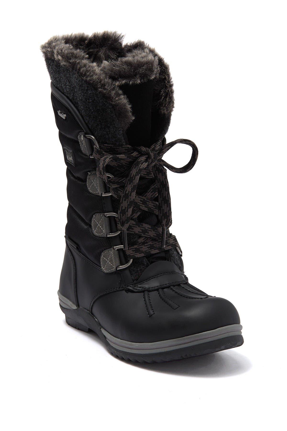Sunnery Faux Fur Lined Waterproof Boot