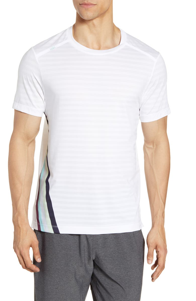 RHONE Swift Performance T-Shirt, Main, color, WHITE