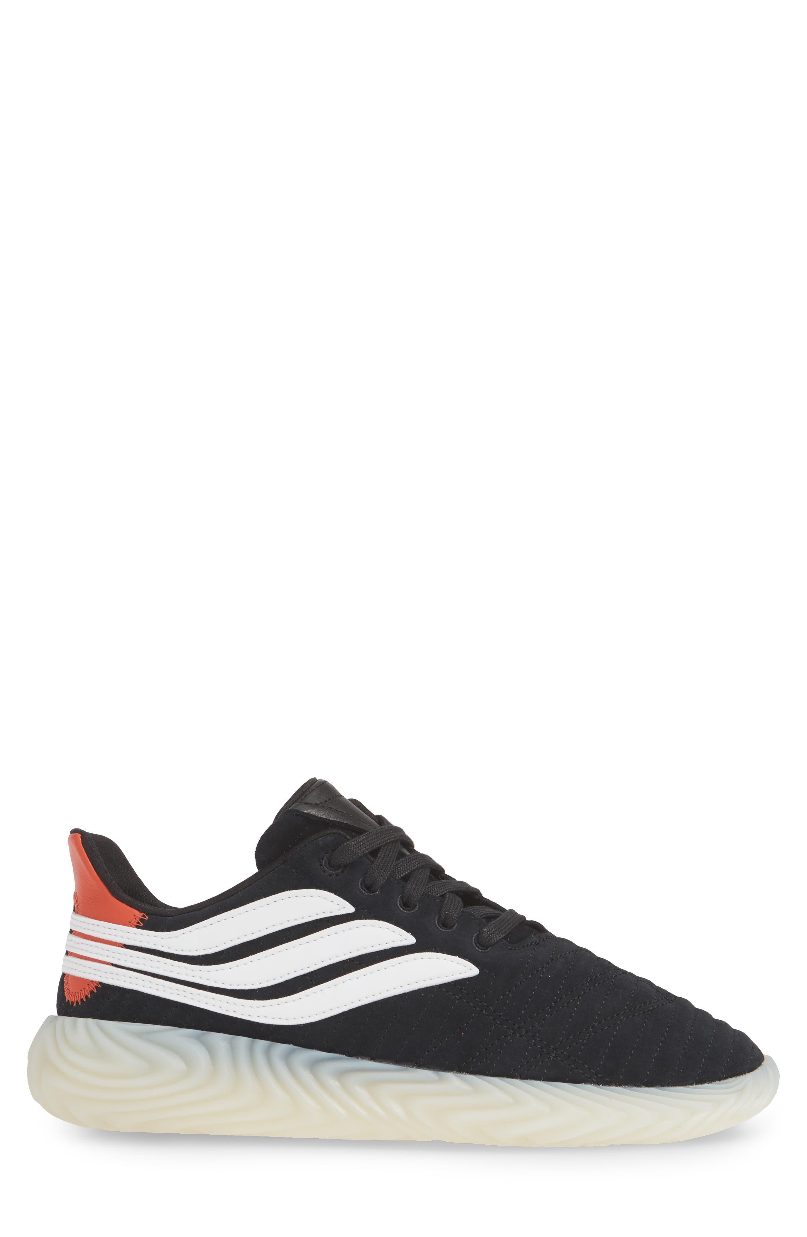 ,                             Sobakov Sneaker,                             Alternate thumbnail 3, color,                             CORE BLACK/ OFF WHITE/ AMBER