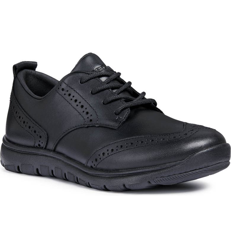 GEOX Xunday Sneaker, Main, color, BLACK