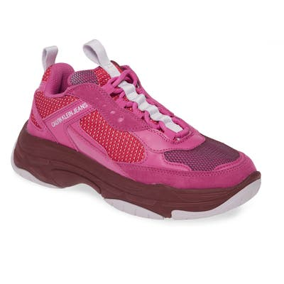 Calvin Klein Jeans Maya Sneaker- Pink