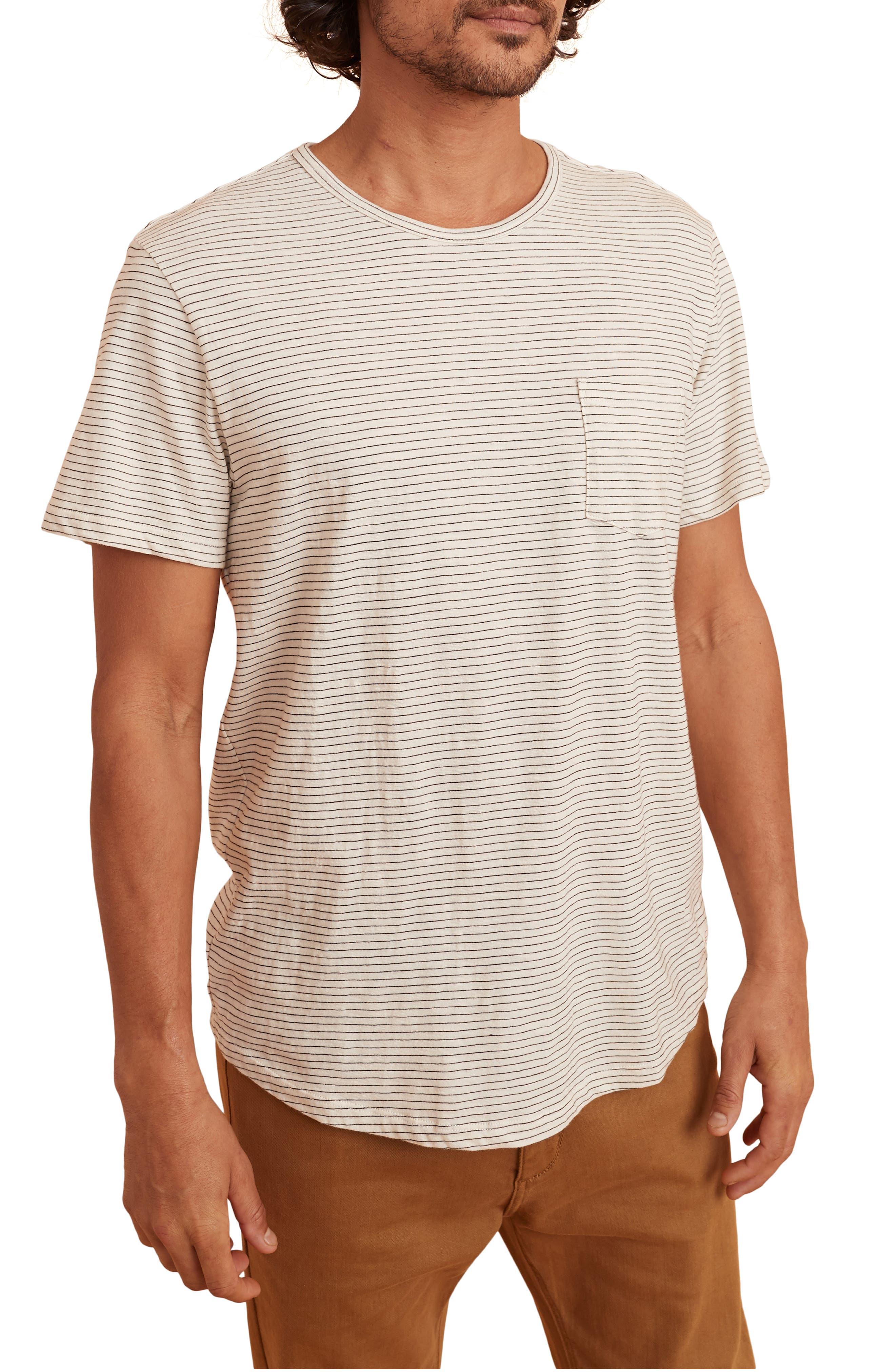 Saddle Stripe Pocket T-Shirt