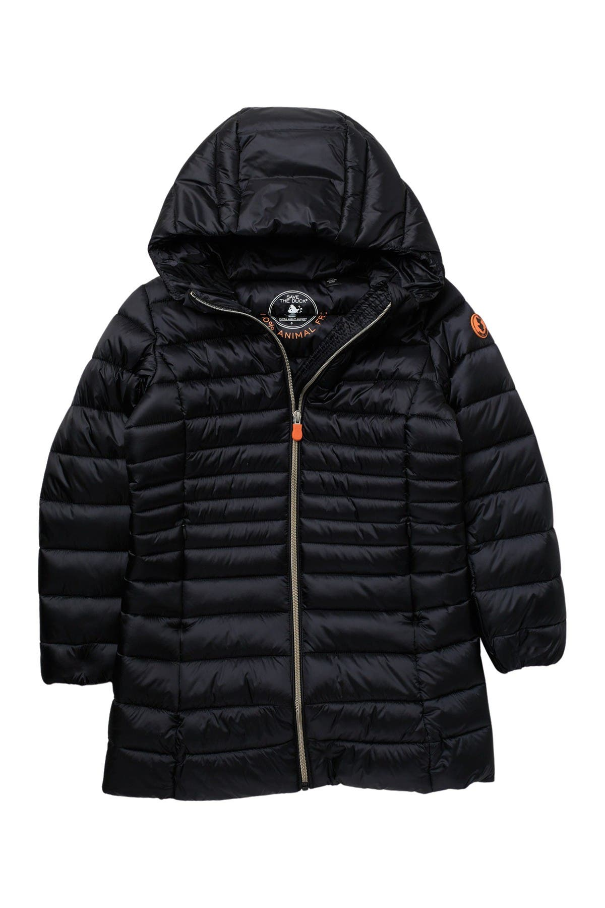 Image of Save The Duck Long Puffer Jacket
