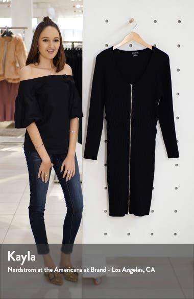 Corset Sweater Dress, sales video thumbnail