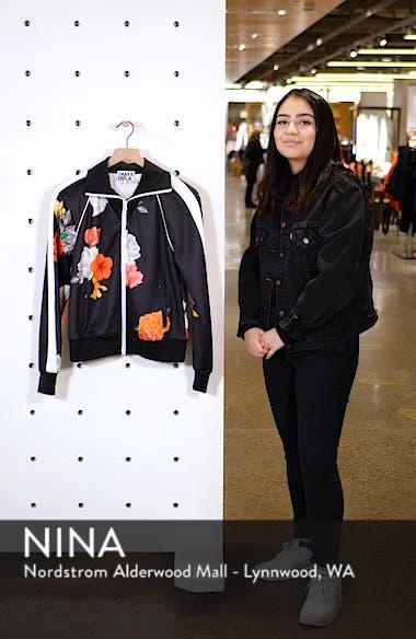 Floral Track Jacket, sales video thumbnail