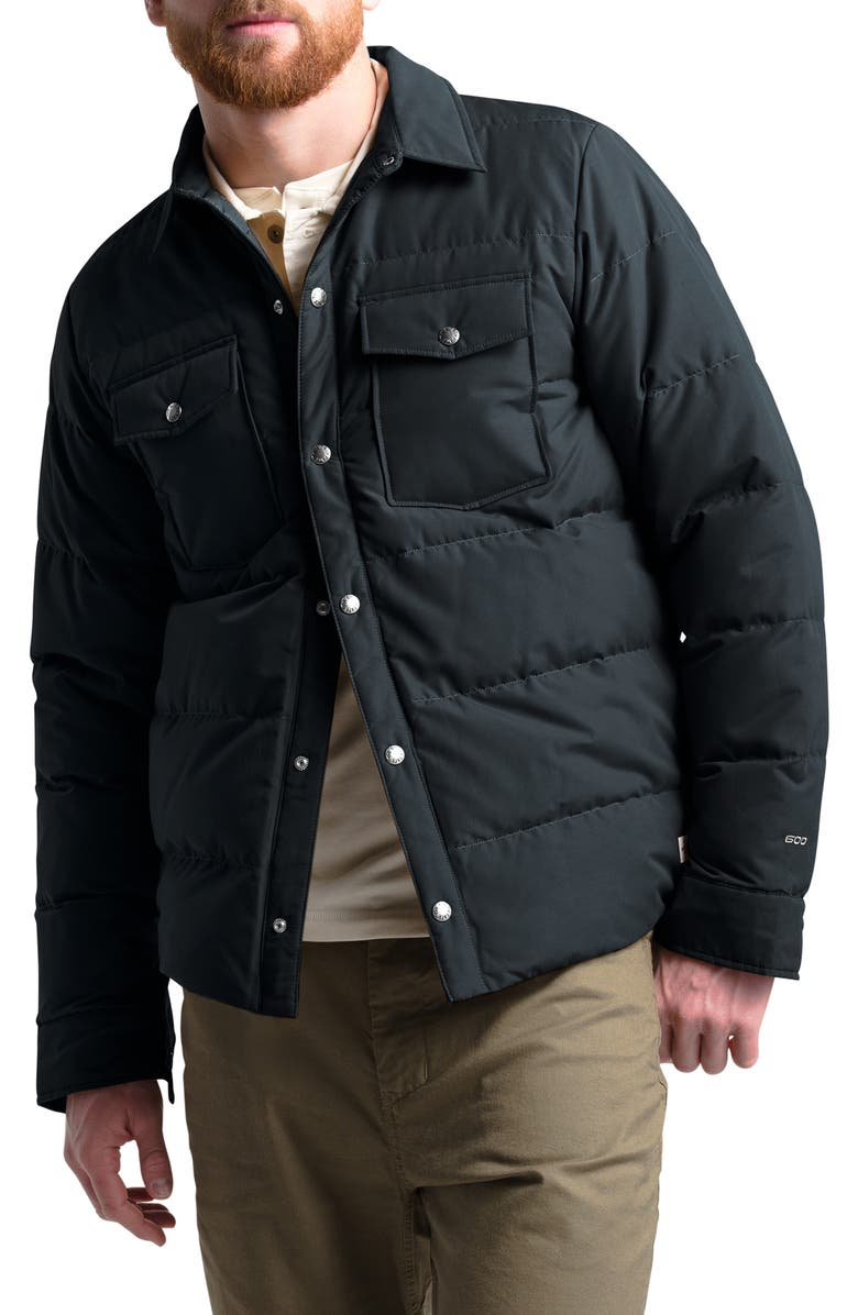 THE NORTH FACE Sierra Quilted 600 Power Fill Recycled Down Jacket, Main, color, 001
