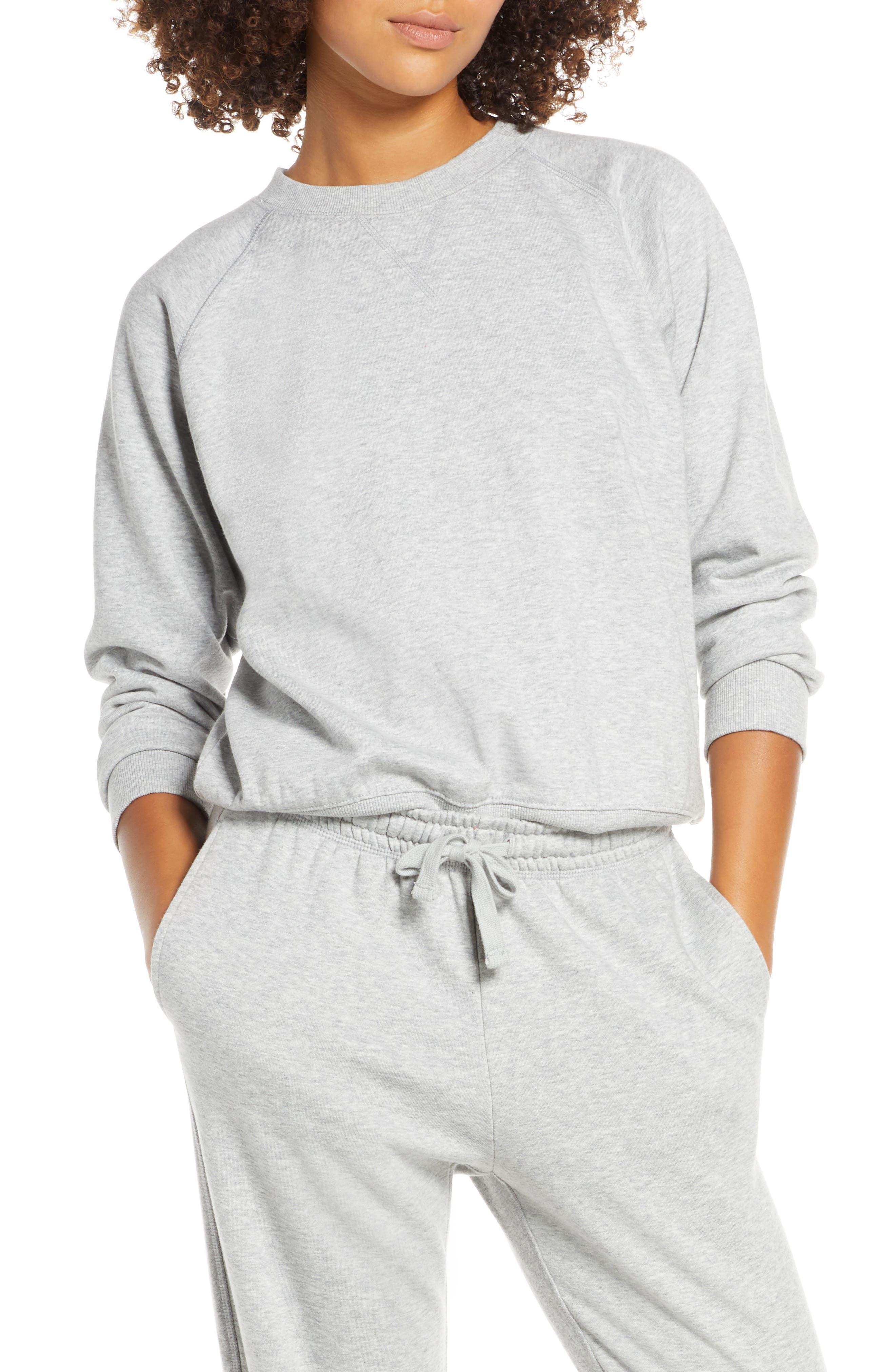 Richer Poorer Sweatshirt, Grey