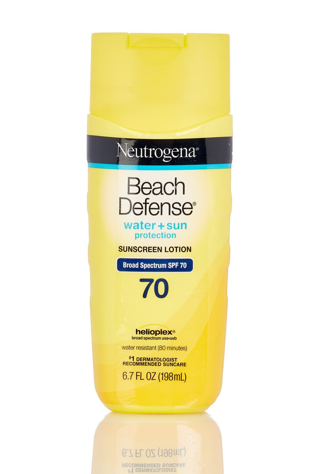 Image of Neutrogena Beach Defense Water + Sun Protection SPF 70 Sunscreen Lotion