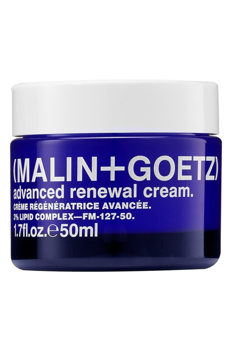 MALIN+GOETZ Advanced Renewal Cream, Main, color, NO COLOR