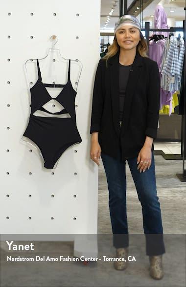 Penelope Cutout One-Piece Swimsuit, sales video thumbnail