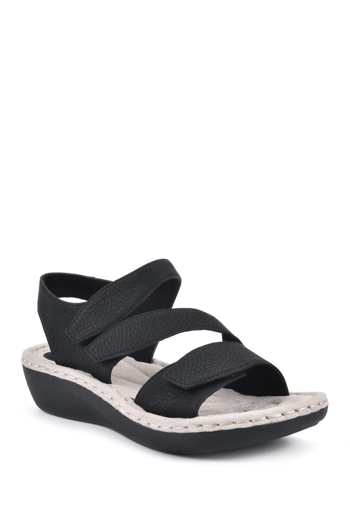 Image of Cliffs by White Mountain Calibre Wedge Comfort Sandal