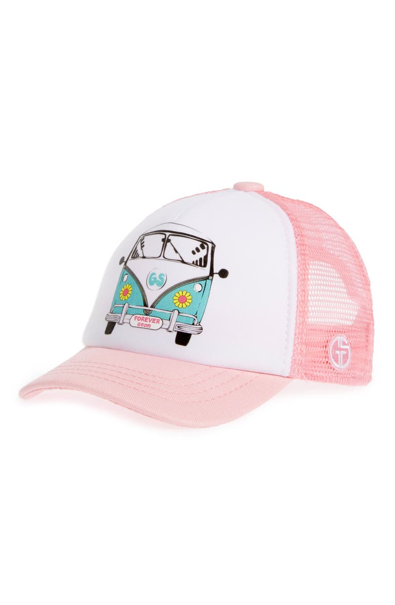 GROM SQUAD Trucker Hat, Main, color, 651