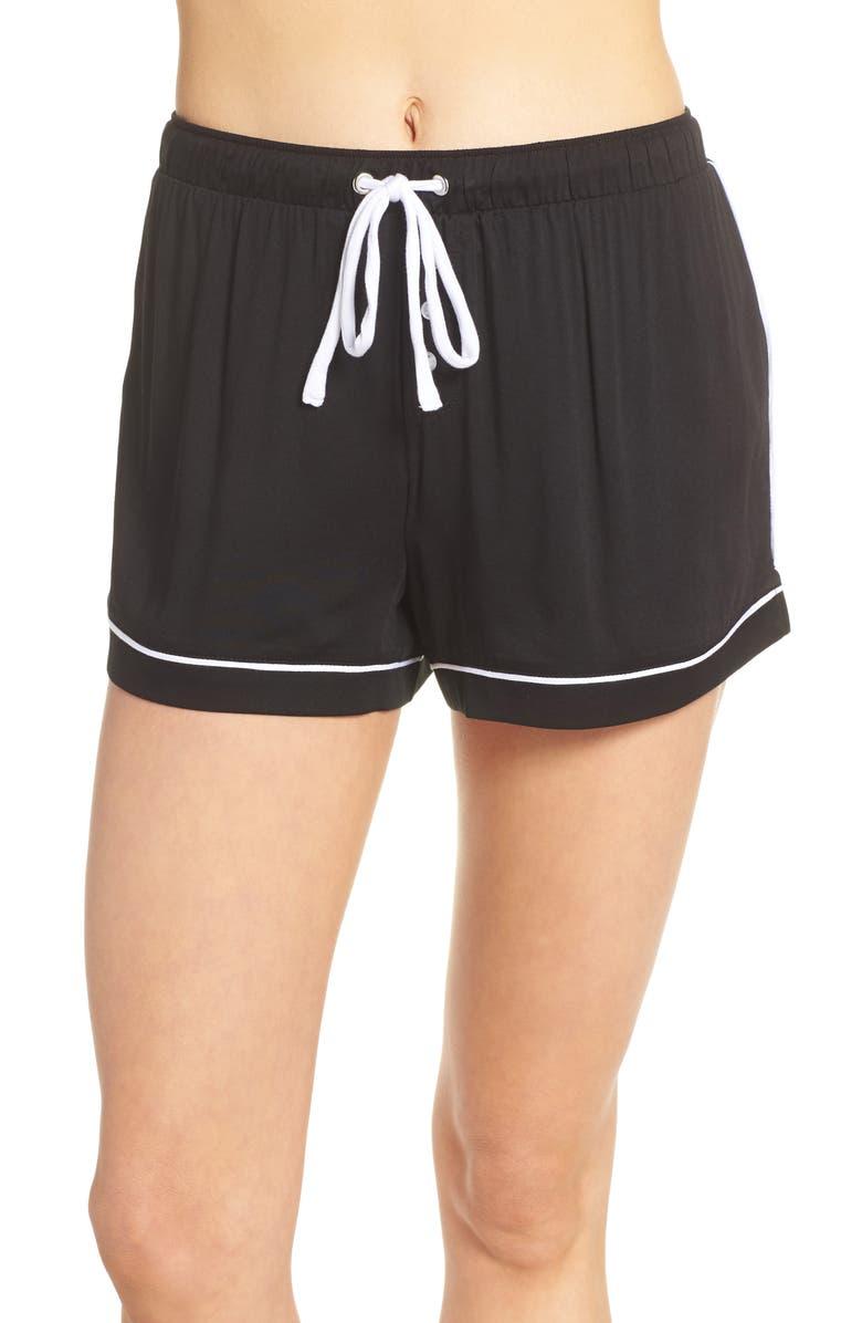SPLENDID Pajama Shorts, Main, color, 001