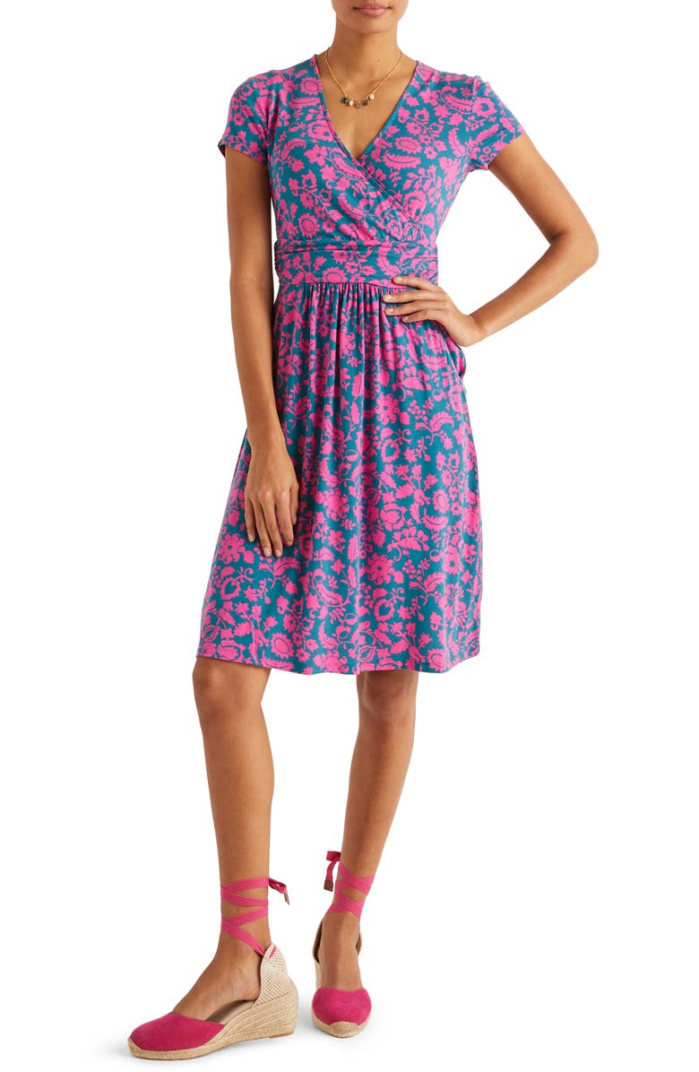 BODEN Lola Jersey Dress, Main, color, 440