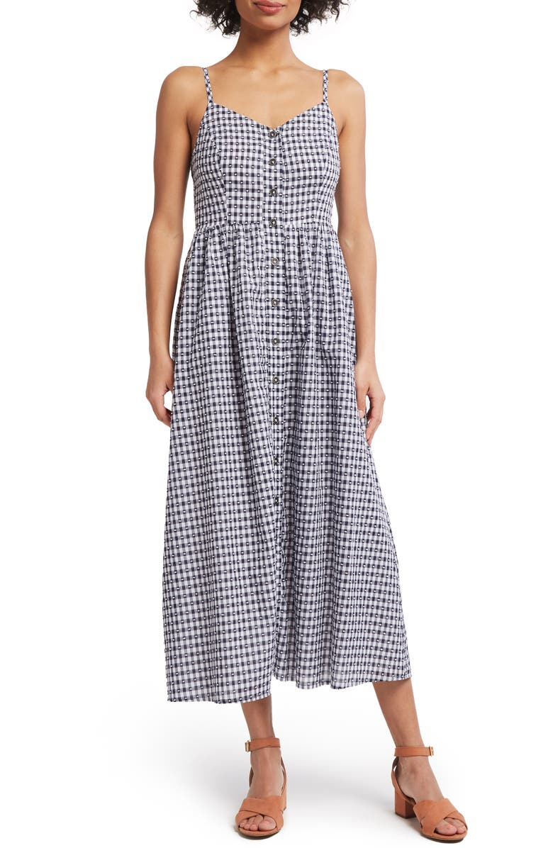 MODCLOTH Quite Clearly Charismatic Midi Sundress, Main, color, 410