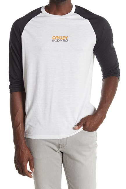 Image of Oakley Factory Pilot 3/4 Raglan Sleeve T-Shirt
