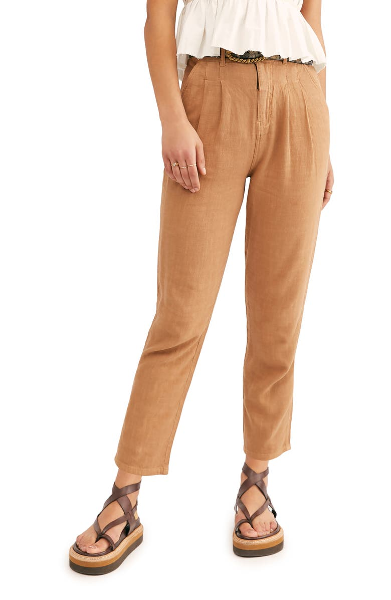 FREE PEOPLE Faded Love Straight Leg Ankle Pants, Main, color, 230