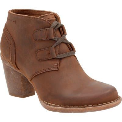 Clarks Carleta Lyon Ankle Boot, Brown