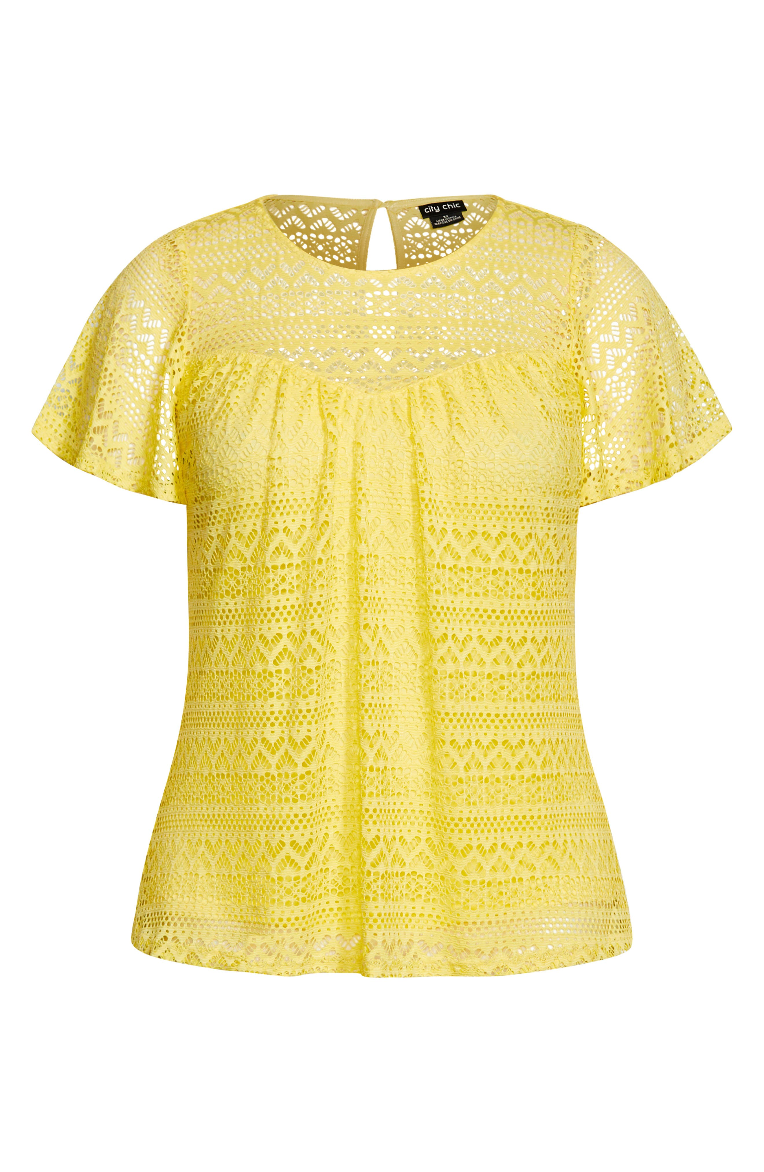 Serenity Lace Top