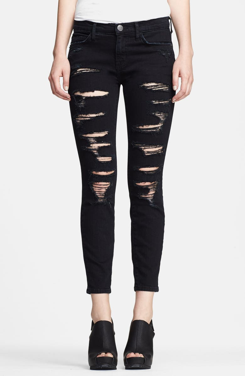 CURRENT/ELLIOTT 'The Stiletto' Stretch Jeans, Main, color, 005