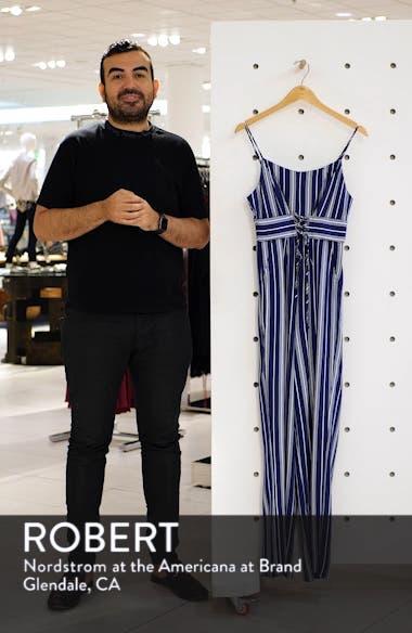 Of Corset Is Stripe Jumpsuit, sales video thumbnail