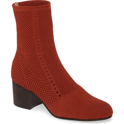 Eileen Fisher Perfect Pairs Choice Knit Boot, Burgundy