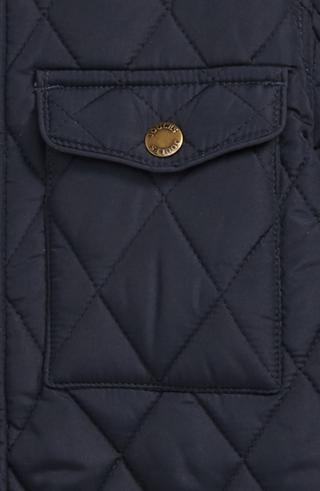 ,                             Stafford Quilted Jacket,                             Alternate thumbnail 2, color,                             NAVY