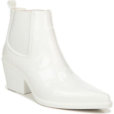 Sam Edelman Winona Western Waterproof Rain Boot, White