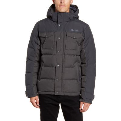 Marmot Fordham Hooded Down Jacket, Grey
