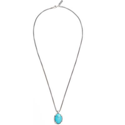 Degs & Sal Turquoise Pendant Necklace