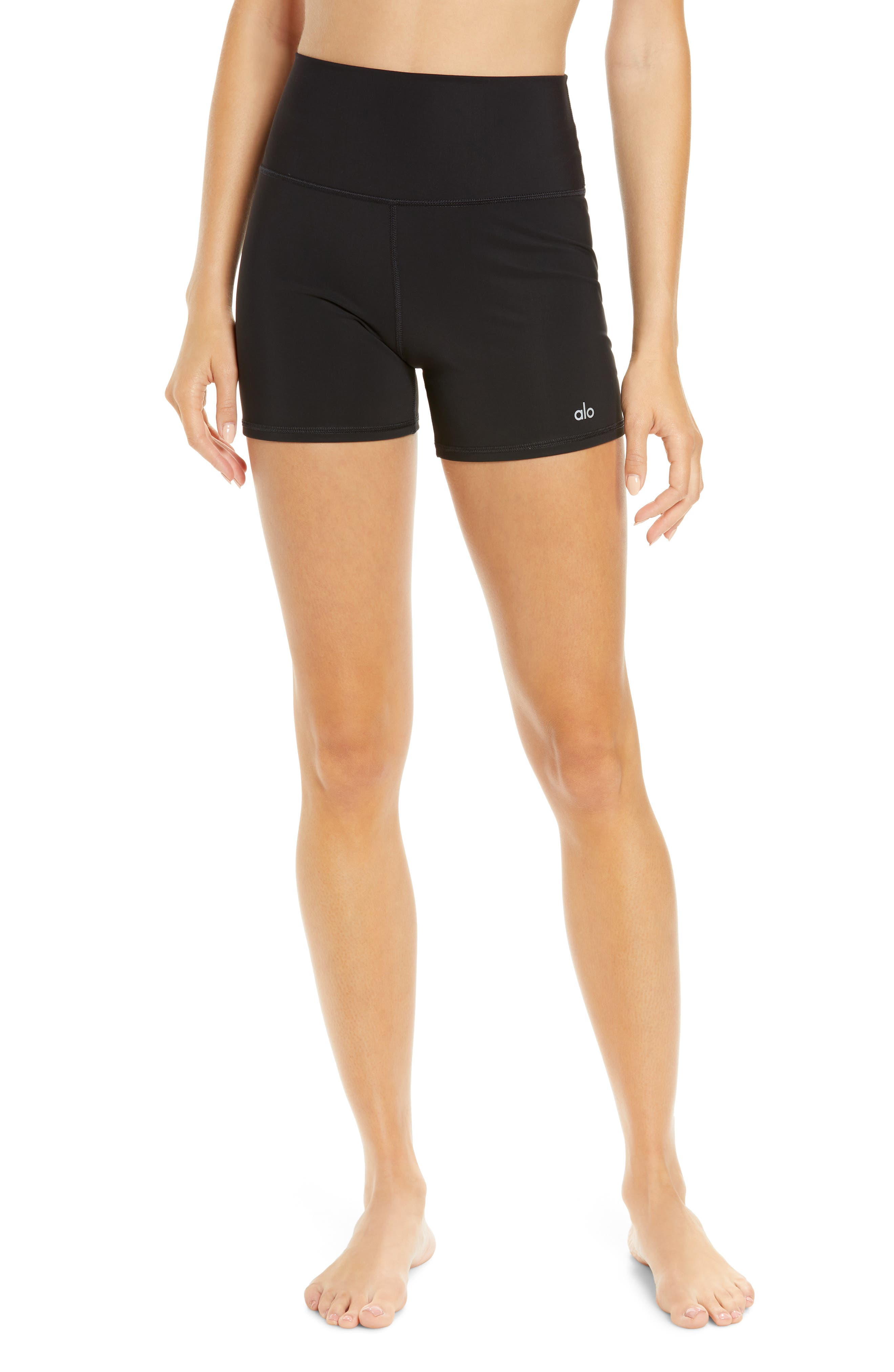 Vapor High Waist Bike Shorts