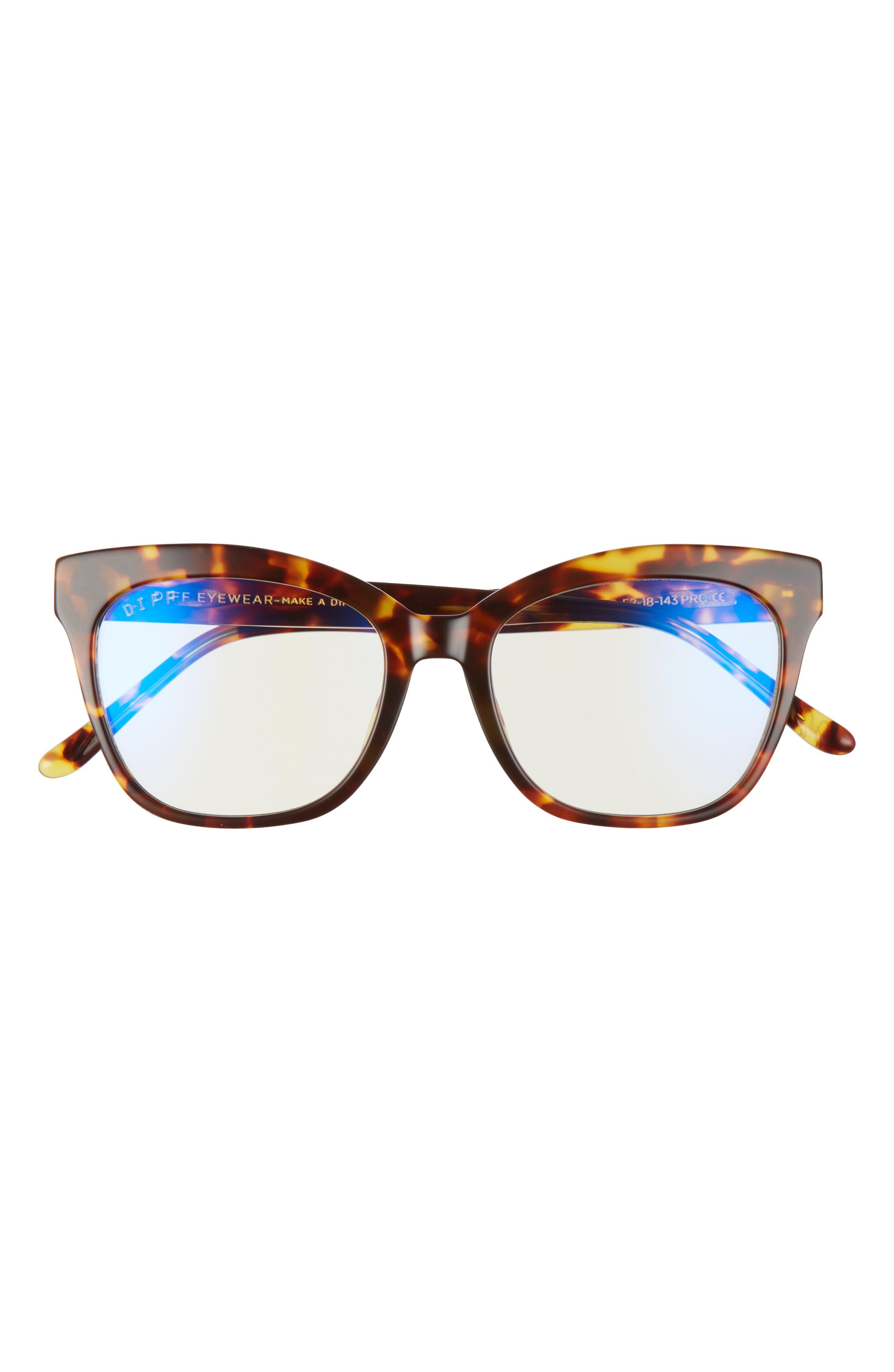 Dash 61mm Cat Eye Blue Light Blocking Glasses