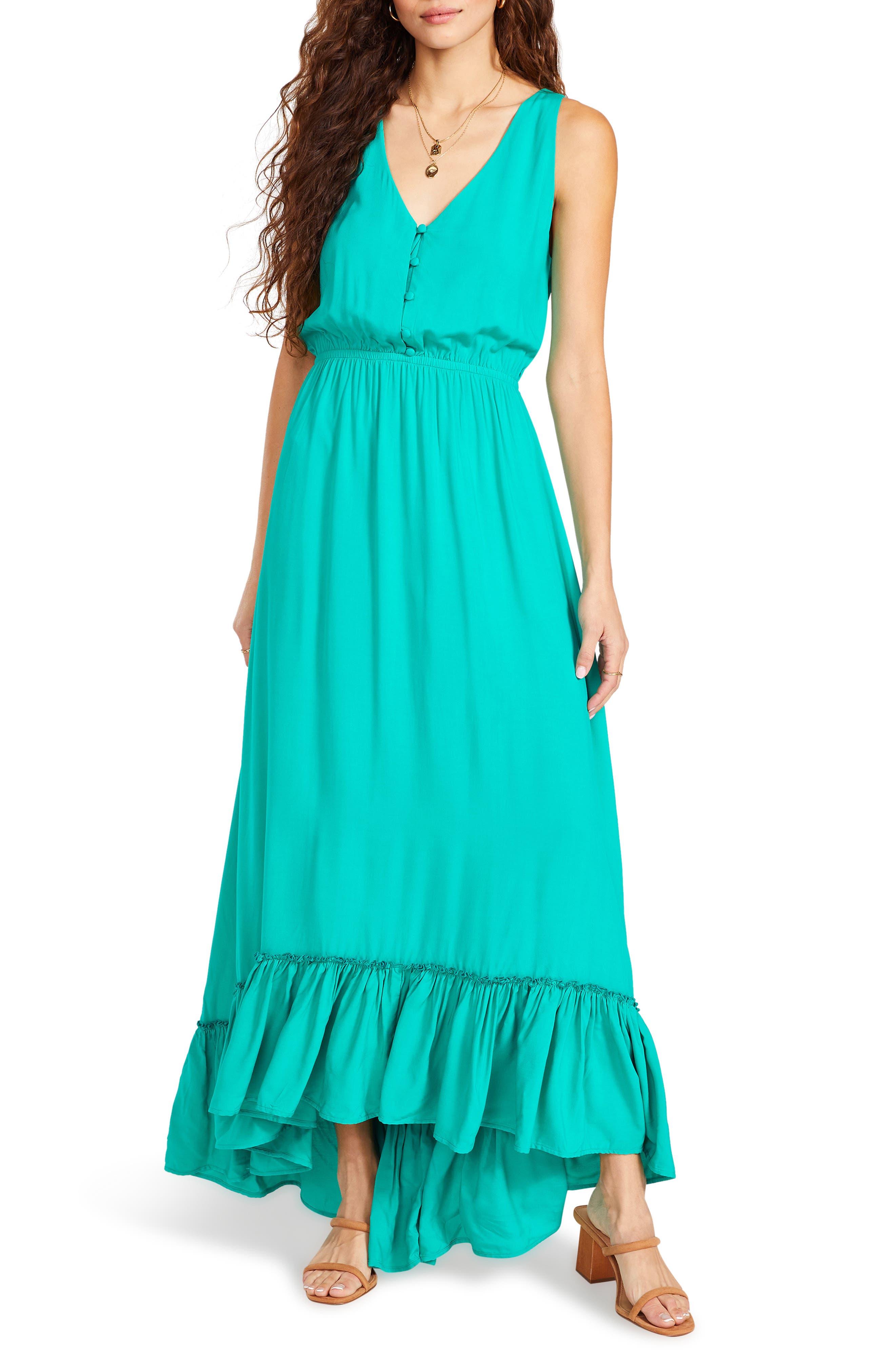 Precious Hem Maxi Dress