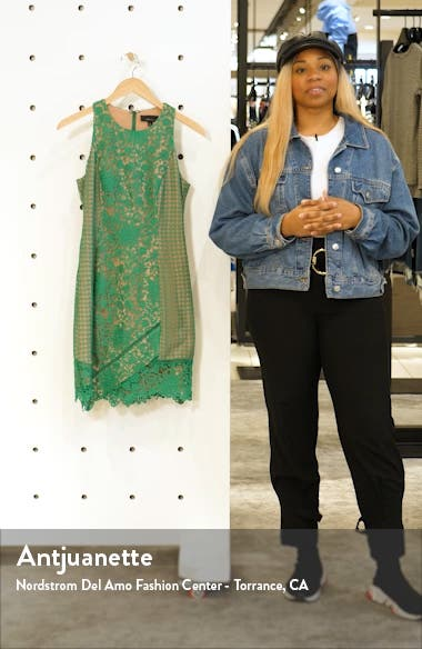 Alessia Lace Cocktail Sheath Dress, sales video thumbnail